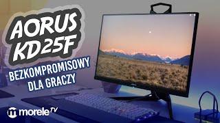 Aorus KD25F. Bezkompromisowy monitor dla GRACZY