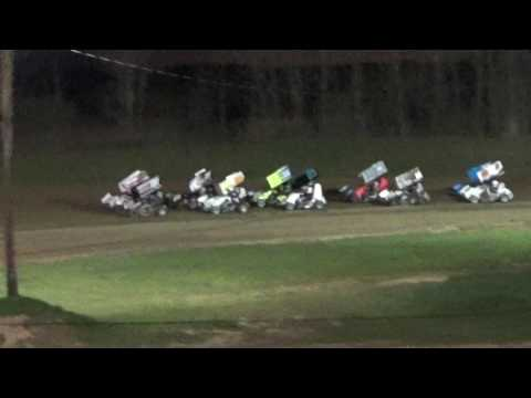 600 Pro Paradise Speedway Brandyn Griffin 4/22/17 Feature