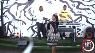 "Kaya FM 18th Birthday Celebration - Maleh performs ""You Make My Heart Go"""