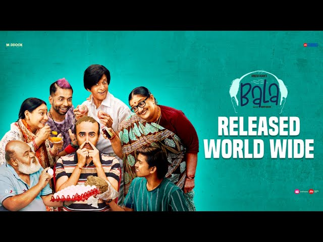 Bala- Official Trailer | Ayushmann Khurrana, Bhumi, Yami | Dinesh Vijan | Amar Kaushik, 8th Nov