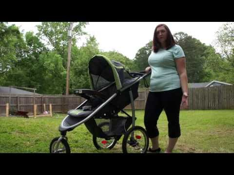 FastAction™ Fold Click Connect™ Jogger from Graco