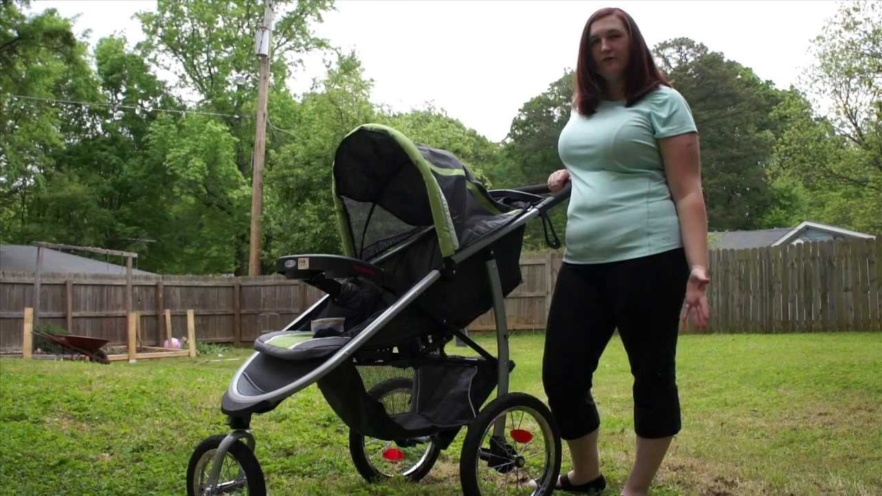 a25033bffac4 FastAction™ Fold Click Connect™ Jogger from Graco - YouTube