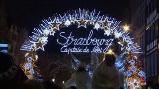 Strasbourg inaugure son 449e marché de Noël