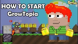 HOW TO START GROWTOPIA!! (EARN WLS)