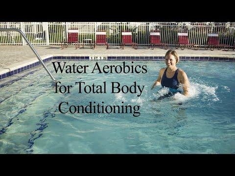 Water Aerobics Total Body Strengthening & Cardio AQUA WORKOUT#1 - WECOACH