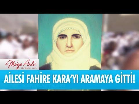 Ailesi Fahire Kara'yı Aramak Için Arabistan'a Gitti! - Müge Anlı Ile Tatlı Sert 7 Eylül 2017