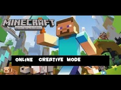 Let's Play Minecraft 25 - Online Creative Mode