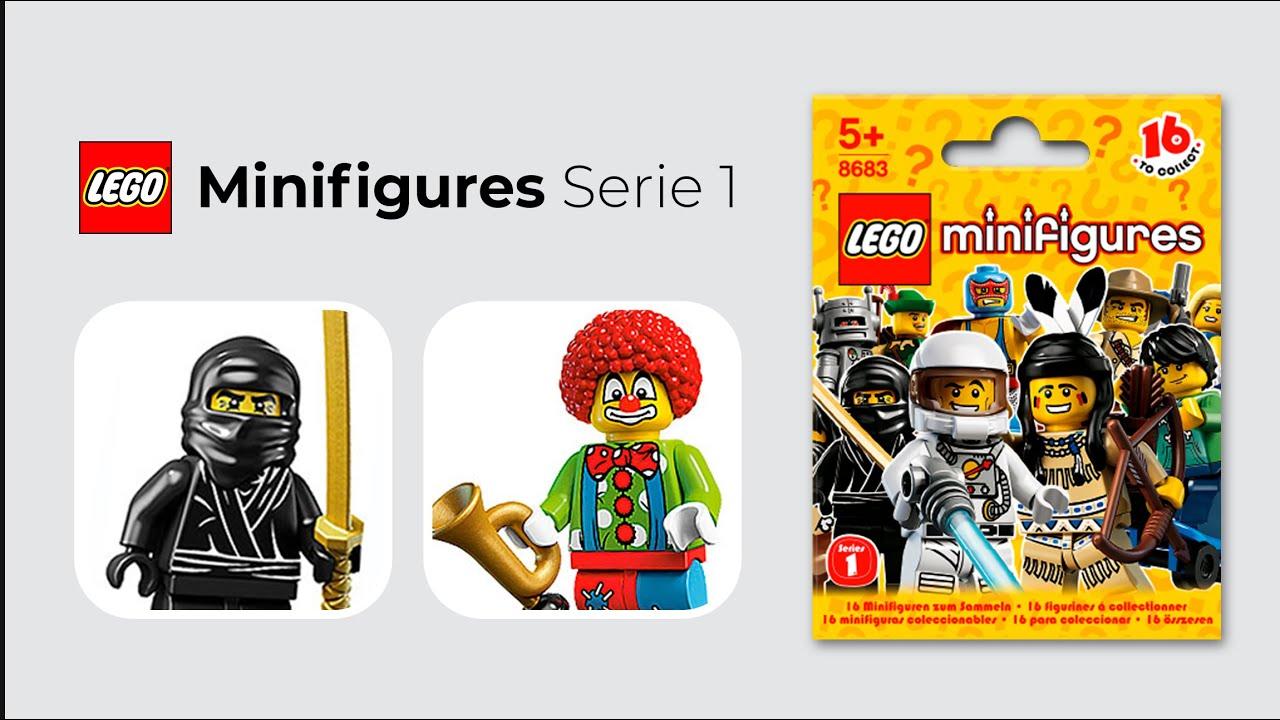 Veamos la primer serie de minifiguras LEGO | Con 24Collection