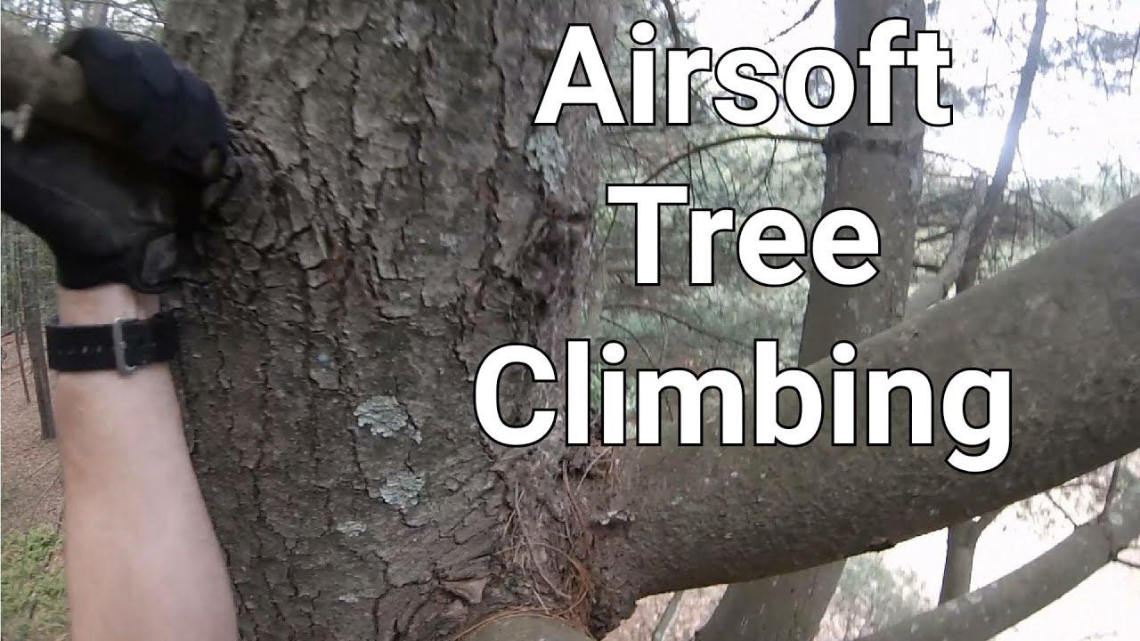 Airsoft Tree Climbing