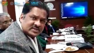 Nikunja K Sundaray IAS: India & China Environment Dialogue, 2019