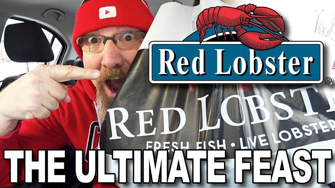 MUKBANG 먹방 | Red Lobster ULTIMATE FEAST • EATING SHOW