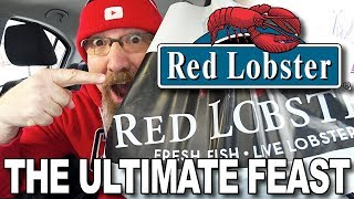 MUKBANG 먹방   Red Lobster ULTIMATE FEAST • EATING SHOW