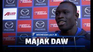 July 26, 2017 - Majak Daw interview