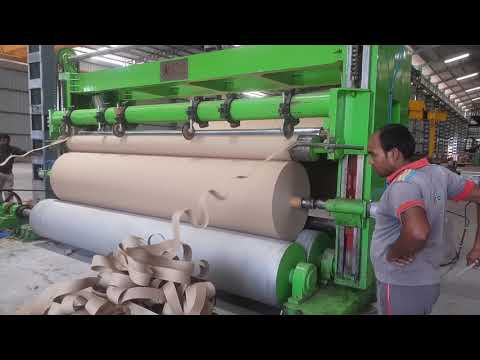 Kraft paper mill rewinder machine ....contact  mohd akram +919719020915