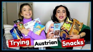 Δοκιμάζουμε Αυστριακά Σνακ || fraoules22