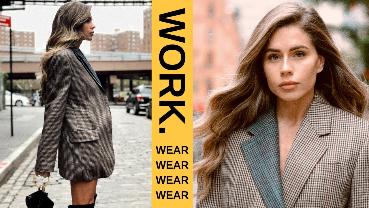 [VIDEO] - SIMPLE WORK OUTFITS FOR THE MODERN WOMAN 6