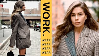 SIMPLE WORK OUTFITS FOR THE MODERN WOMAN