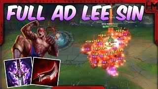 FULL AD Lee Sin Jungle - This Might Be META Now... | Unranked to Diamond S7 #3 - League of Legends