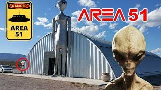 alien research center found searching for aliens in area 51 and you wont believe what we found