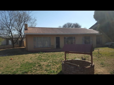 3 Bedroom House for sale in Free State | Welkom And Goldfields | Hennenman | Hennenman  |