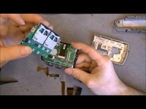 Repair of a JVC Everio camcorder puzzle from Ebay