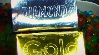 REAL SUPER GOLD & DIAMOND DIG ITS SUPER SUPRISE FOUND ON FUN HOUSE TV