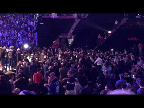 Crowd fight at Bell Center Butler vs Cook 2017-01-28