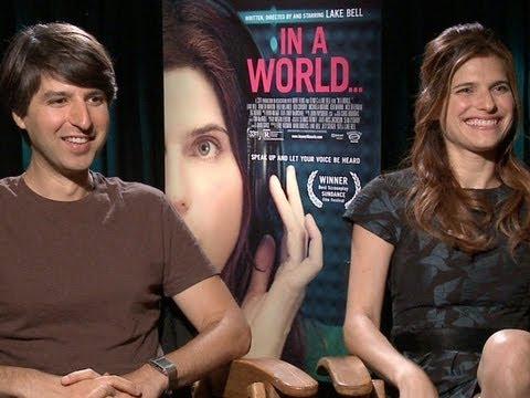 Filmmaker Lake Bell and Demetri Martin Talk 'In a World...'