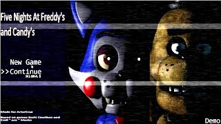 Five Nights At Freddy s and Candy s