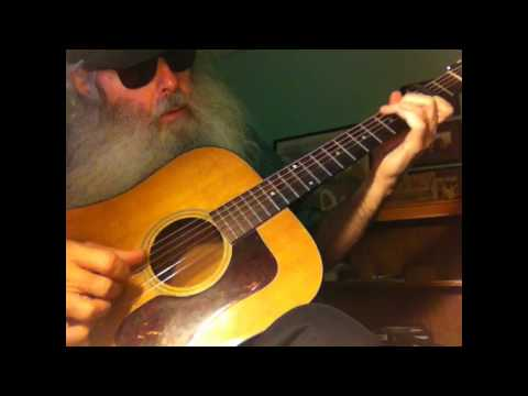 Guitar Lesson - How to play The Cocaine Blues Like Dave Van Ronk In The Key Of C In Standard Tuning!