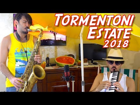 TORMENTONI ESTATE 2018 Cover Sax (ITALIA)