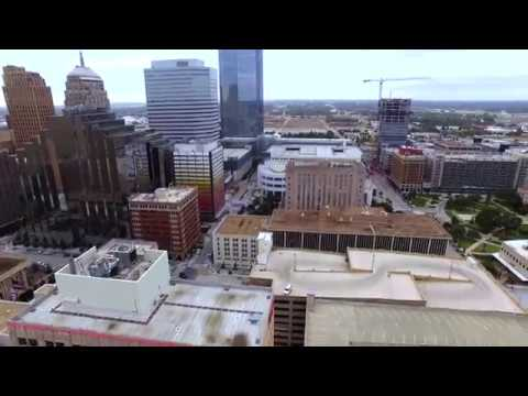 Oklahoma City Drone Footage