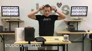 Beats by Dre Studio 2 Wireless Headphones REVIEW(Review of Beats Studio 2 Wireless headphones. Our site - www.joesge.com. Instagram @joesge Snapchat @joesge., 2016-12-10T22:47:36.000Z)