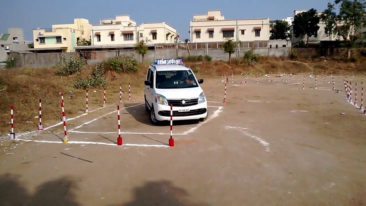Driving Test Track Rto Parallel Parking