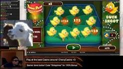 NetEnt Theme Park - Big Duck Shoot!