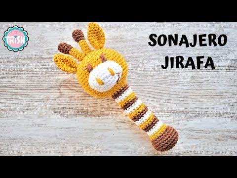 🦒cÓmo-montar-el-sonajero-de-jirafa-🦒--fÁcil---crochet🦒🦒