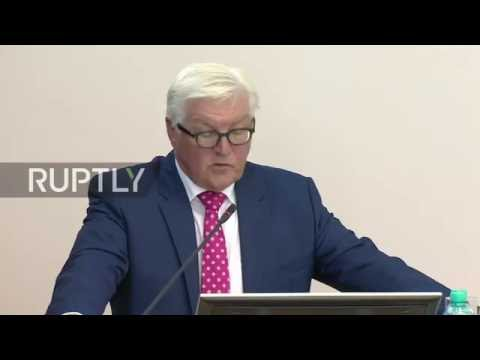 Russia: Steinmeier backs stronger Germany-Russia ties over Syria