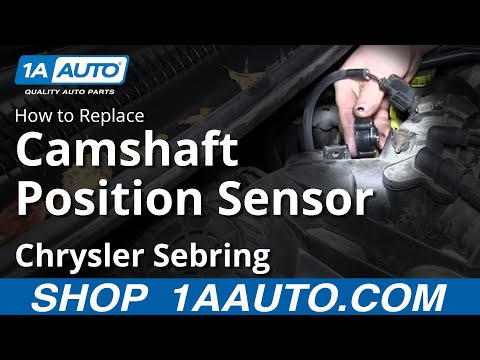 How to Replace Camshaft Position Sensor 01-09 Chrysler Sebring