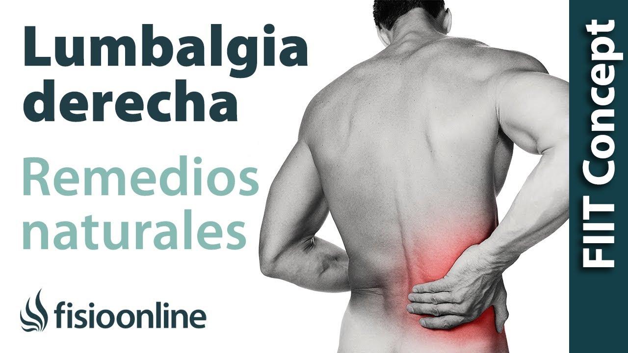 remedios efectivos para el dolor de lumbago