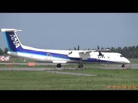 新潟空港(KIJ) - 仁川(ICN) KAL ボーイング 737-900、新潟空港(KIJ) - 中部(NGO) ANA ボンバルディア DHC-8-Q400