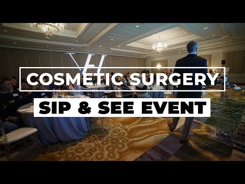 Cosmetic Surgery Sip and See Event Recap