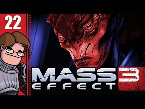 Let's Play Mass Effect 3 Part 22 - Organics and Synthetics