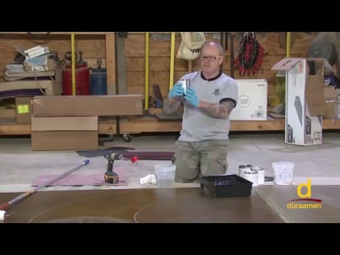 How to install Water-based Polyurethane Topcoat