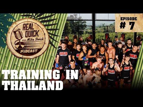 RQMS Podcast #7: Training In Thailand + Bonus Red Light District Muay Thai