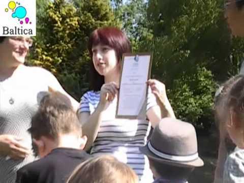 """School """"Baltica"""" (UK, Leeds) - BRONZE AWARD receiving (27 May 2012)"""