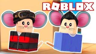 Roblox - MINGUADO É UM HAMSTER !!! (HAMSTERS IN ROBLOX)