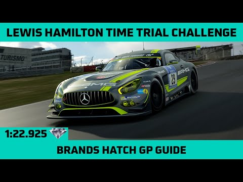 Gran Turismo Sport - Lewis Hamilton Time Trial Challenge Guide - Brands Hatch Grand Prix