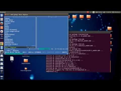 Play music via Terminal on Ubuntu