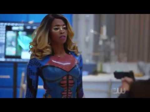 Anissa's Fight Scene with Black Lightning! - Black Lightning 1x06