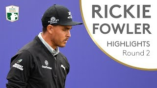 Rickie Fowler Highlights | Round 2 | 2018 Aberdeen Standard Investments Scottish Open